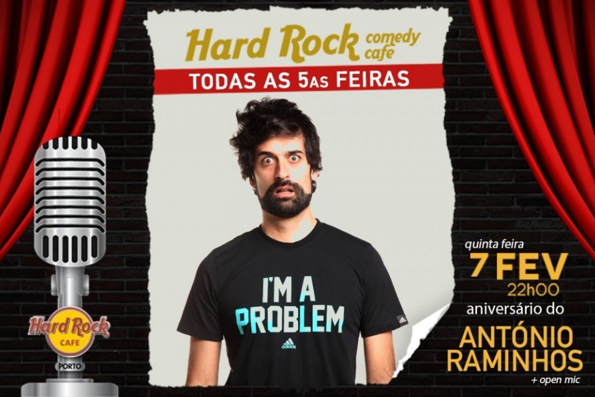 PortoCool_Blog_Vai haver Stand Up Comedy no Hard Rock Café